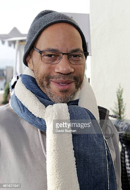 Writer John Ridley attends the DPA PreGolden Globe Awards Gift Suite at the Luxe Hotel on January 9 2014 in Beverly Hills California