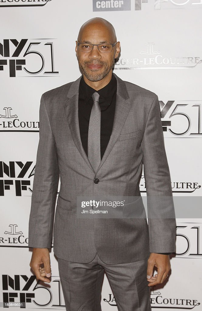 Writer John Ridley attends the Gala Tribute To <a gi-track='captionPersonalityLinkClicked' href=/galleries/search?phrase=Ralph+Fiennes&family=editorial&specificpeople=206461 ng-click='$event.stopPropagation()'>Ralph Fiennes</a> during the 51st New York Film Festival at Alice Tully Hall at Lincoln Center on October 9, 2013 in New York City.