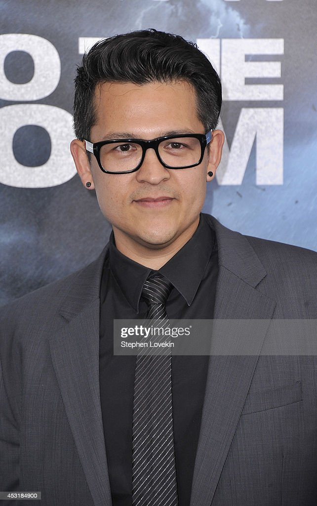 Writer John Swetnam attends the 'Into The Storm' premiere at AMC Lincoln Square Theater on August 4, 2014 in New York City.