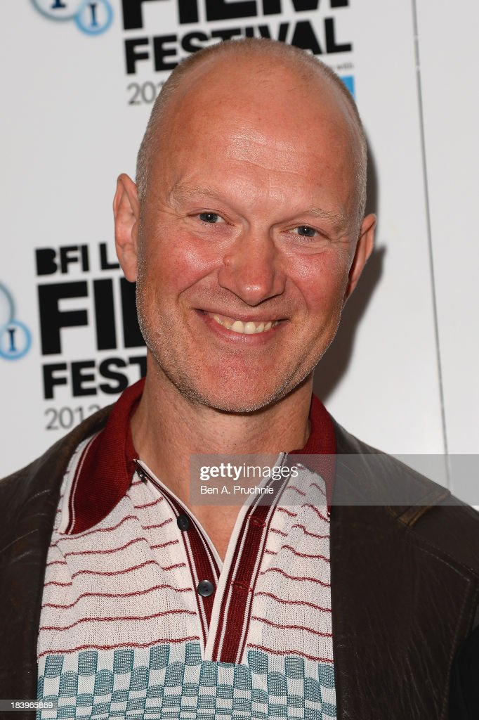 Writer Jonathan Asser attends a screening of 'Starred Up' during the 57th BFI London Film Festival at Odeon West End on October 10, 2013 in London, England.