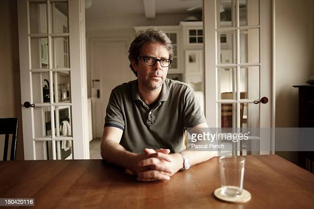 Writer Jonathan Franzen is photographed for Liberation on June 14 2011 in New York City