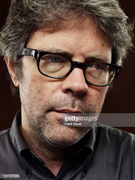 Writer Jonathan Franzen is photographed for Sueddeutsche Zeitung magazine on October 11 2010 in Munich Germany