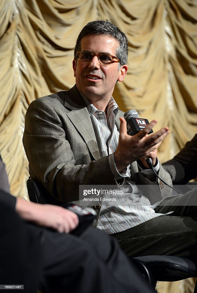 Writer Jonathan Lethem attends the Film Independent screening of Gregory Crewdson: Brief Encounters at the Bing Theatre At LACMA on January 24, 2013 in Los Angeles, California.