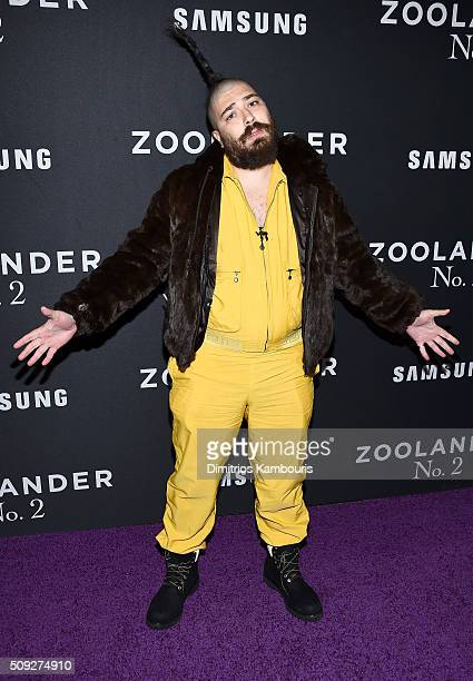 Writer Josh 'The Fat Jew' attends the 'Zoolander 2' World Premiere at Alice Tully Hall on February 9 2016 in New York City