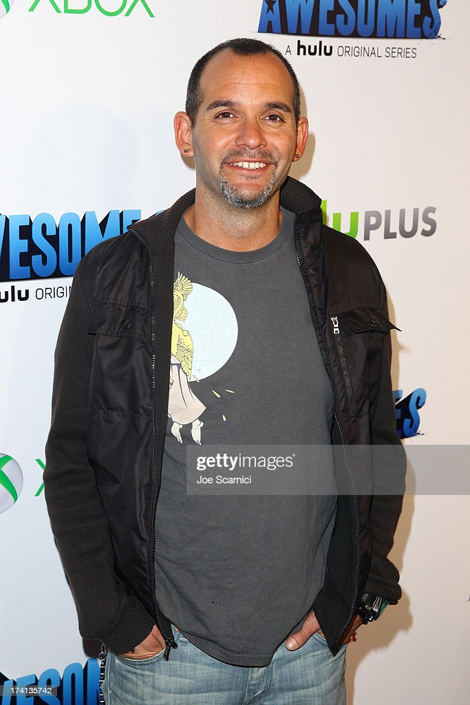 Writer Judd Winick attends 'The Awesomes' VIP After-Party sponsored by Hulu and Xbox at Andaz on July 20, 2013 in San Diego, California.