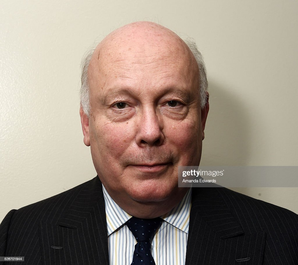 Writer Julian Fellowes attends the LACMA and Writers Bloc presentation of Julian Fellowes In Conversation with Patt Morrison at the Bing Theatre at LACMA on April 30, 2016 in Los Angeles, California.