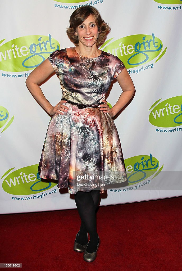 Writer Kami Garcia attends the Bold Ink Awards at the Eli and Edythe Broad Stage on November 5 2012 in Santa Monica California