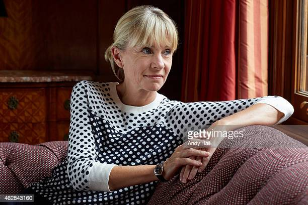 Writer Kate Mosse is photographed for the Observer on August 26 2014 in London England