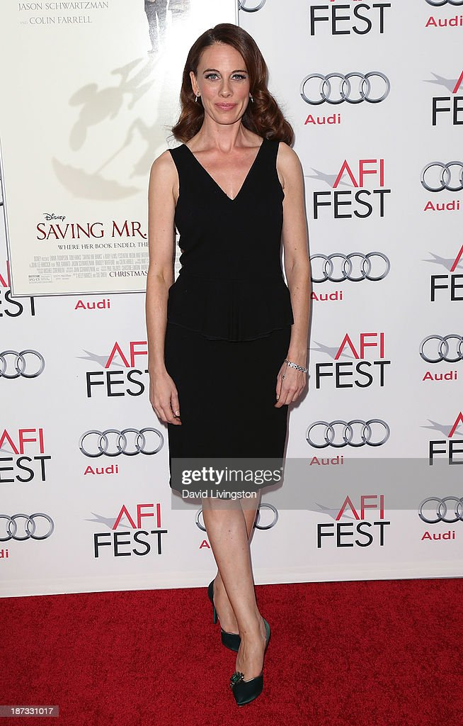 Writer Kelly Marcel attends the AFI FEST 2013 presented by Audi premiere of Walt Disney Pictures' 'Saving Mr. Banks' at TCL Chinese Theatre on November 7, 2013 in Hollywood, California.