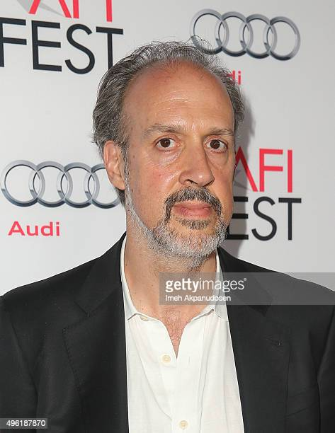 Writer Kent Jones attends the Centerpiece Gala premiere of Dog Eat Dog Films' 'Where To Invade Next' at the Egyptian Theatre on November 7 2015 in...