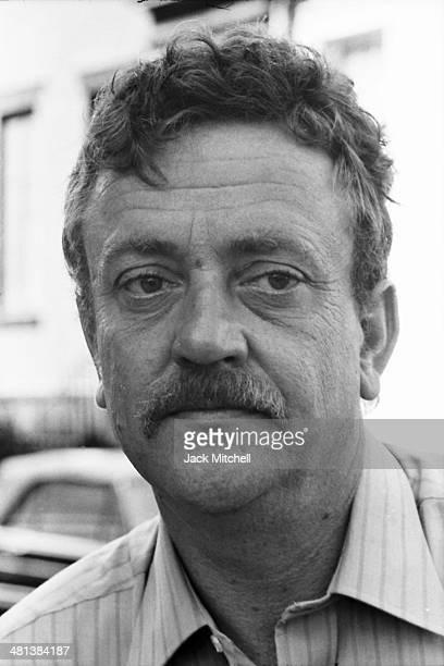 Writer Kurt Vonnegut photographed in 1970