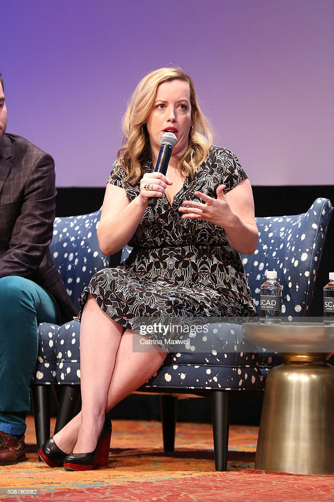 Writer Lang Fisher attends 'The Mindy Project' event during aTVfest 2016 presented by SCAD on February 6, 2016 in Atlanta, Georgia.