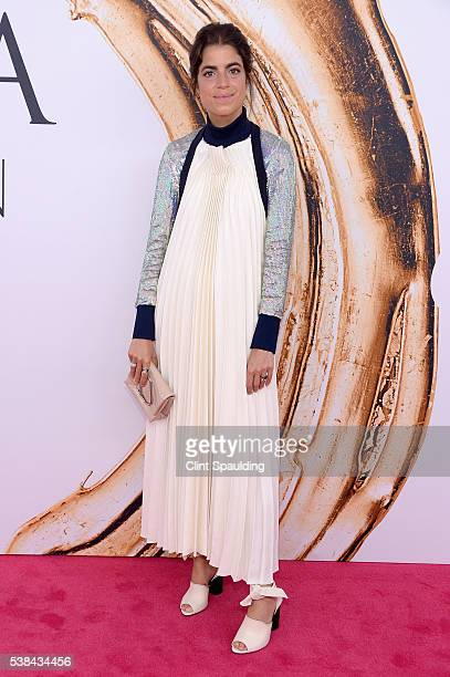 Writer Leandra Medine attends the 2016 CFDA Fashion Awards at the Hammerstein Ballroom on June 6 2016 in New York City