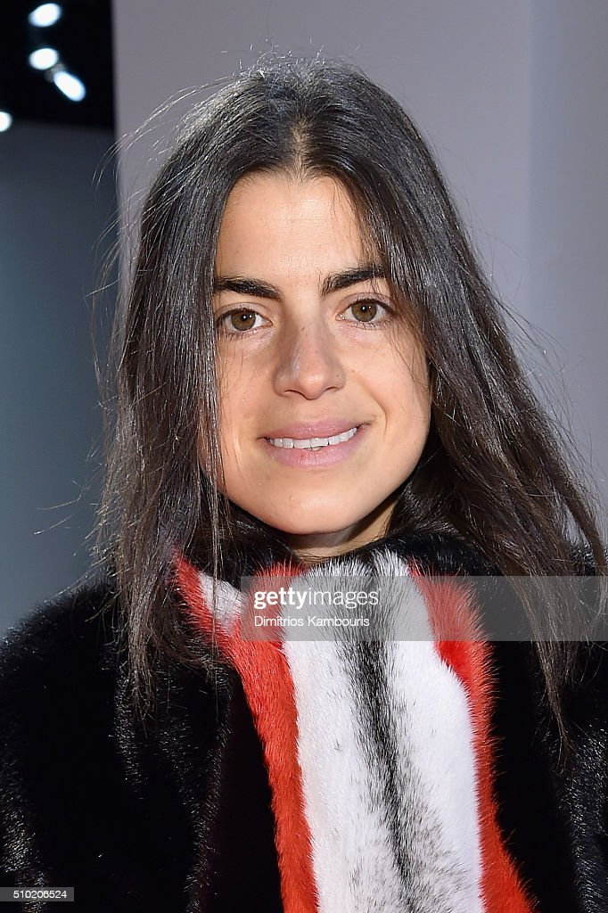 Writer, <a gi-track='captionPersonalityLinkClicked' href=/galleries/search?phrase=Leandra+Medine&family=editorial&specificpeople=7491795 ng-click='$event.stopPropagation()'>Leandra Medine</a>, attends the Derek Lam Fall 2016 fashion show during New York Fashion Week: The Shows at The Gallery, Skylight at Clarkson Sq on February 14, 2016 in New York City.
