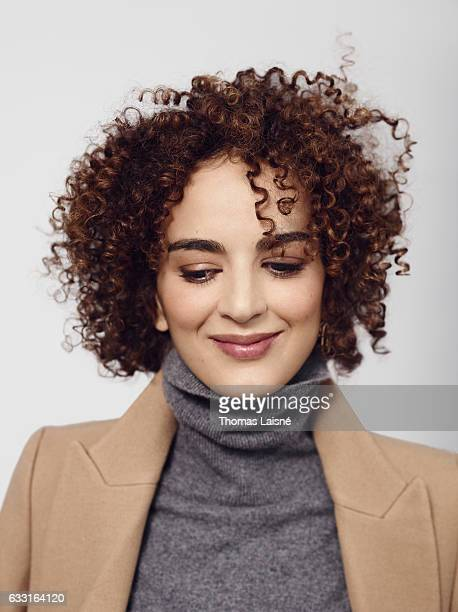 Writer Leila Slimani is photographed for Self Assignment on December 6 2016 in Paris France