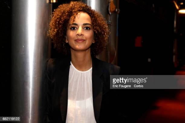 Writer Leïla Slimani winner of the Prix Goncourt for her novel 'Sweet song' poses during a portrait session in Paris France on