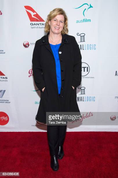 Writer Liane Moriarty attends a screening of 'Big Little Lies' hosted by Australians In Film at Harmony Gold on February 8 2017 in Los Angeles...