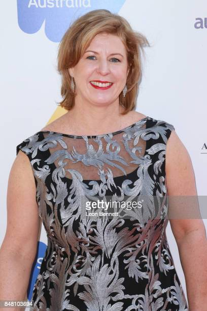 Writer Liane Moriarty attends he 2017 Australian Emmy Nominee Sunset Reception on September 16 2017 in Beverly Hills California