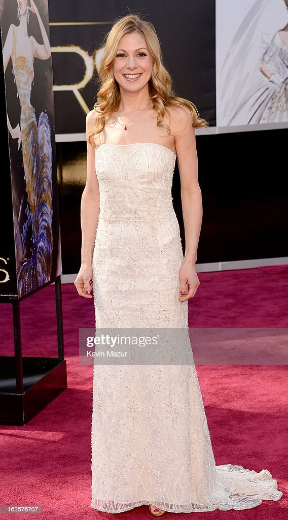 Writer Lucy Alibar arrives at the Oscars held at Hollywood Highland Center on February 24 2013 in Hollywood California