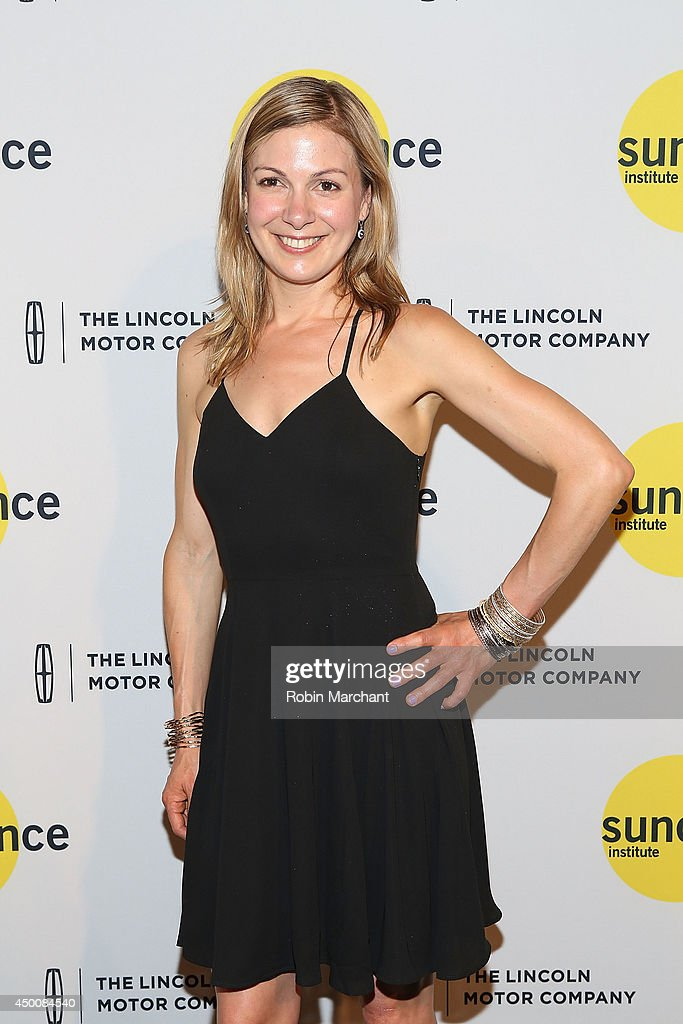 Writer Lucy Alibar attends the Sundance Institute Vanguard Leadership Award honoring Glenn Close at Stage 37 on June 4 2014 in New York City