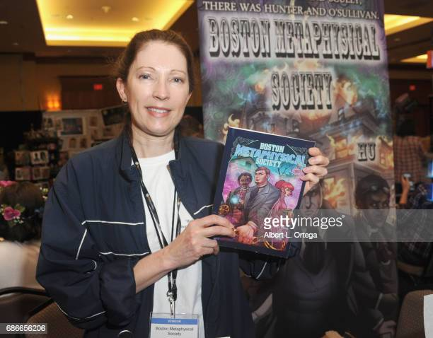 Writer Madeleine HollyRosing of the Boston Metaphysical Society Comic attends WhedonCon 2017 held at Warner Center Marriott Woodland Hills on May 21...