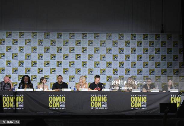 Writer Marc Guggenheim actors Echo Kellum Willa Holland David Ramsey Emily Bett Rickards Stephen Amell Katie Cassidy Juliana Harkavy Rick Gonzalez...