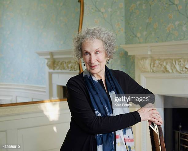 Writer Margaret Atwood is photographed for the New Statesman on October 7 2014 in London England