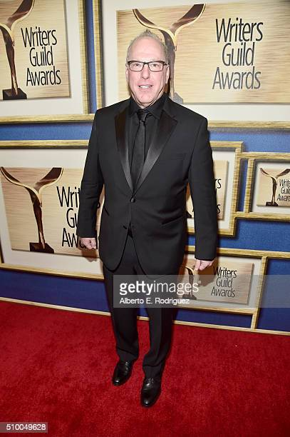 Writer Mark Blutman attends the 2016 Writers Guild Awards at the Hyatt Regency Century Plaza on February 13 2016 in Los Angeles California