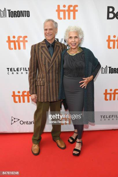 Writer Mark Bruce Rosin and Cynthia Hoppenfeld attend the '55 Steps' World Premiere during the 2017 Toronto International Film Festival at Roy...