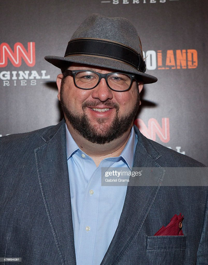 Writer Mark Konkol attends the 'Chicagoland' series premiere at Bank of America Theater on March 4, 2014 in Chicago, Illinois.