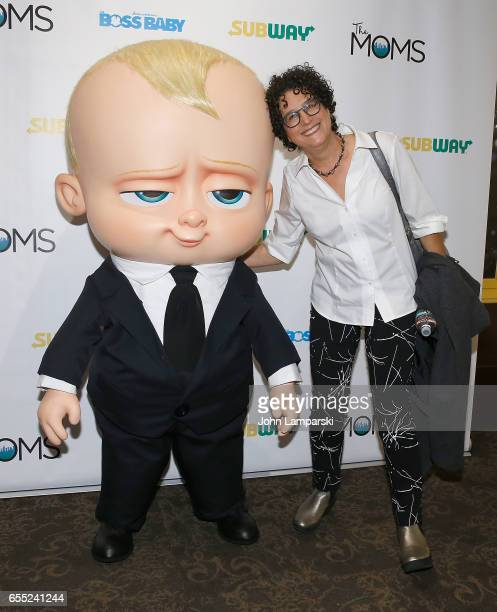 Writer Marla Frazee attends Mamarazzi screening Of 'The Boss Baby'at Dolby 88 Theater on March 19 2017 in New York City