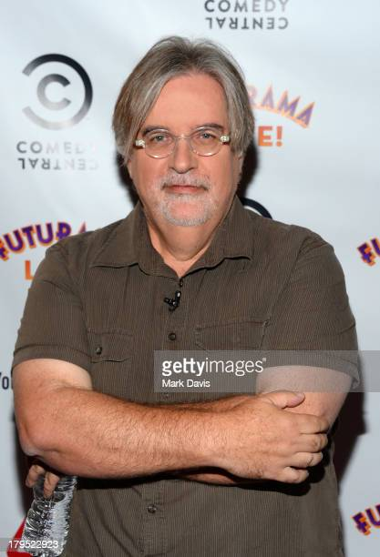 Writer Matt Groening attends the 'Futurama Special Screening' held at YouTube Space LA on September 4 2013 in Los Angeles California