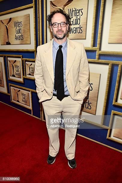 Writer Matt Selman attends the 2016 Writers Guild Awards at the Hyatt Regency Century Plaza on February 13 2016 in Los Angeles California