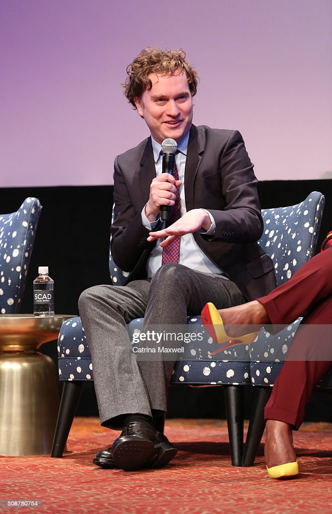 Writer Matt Warburton speaks at 'The Mindy Project' event during aTVfest 2016 presented by SCAD on February 6, 2016 in Atlanta, Georgia.
