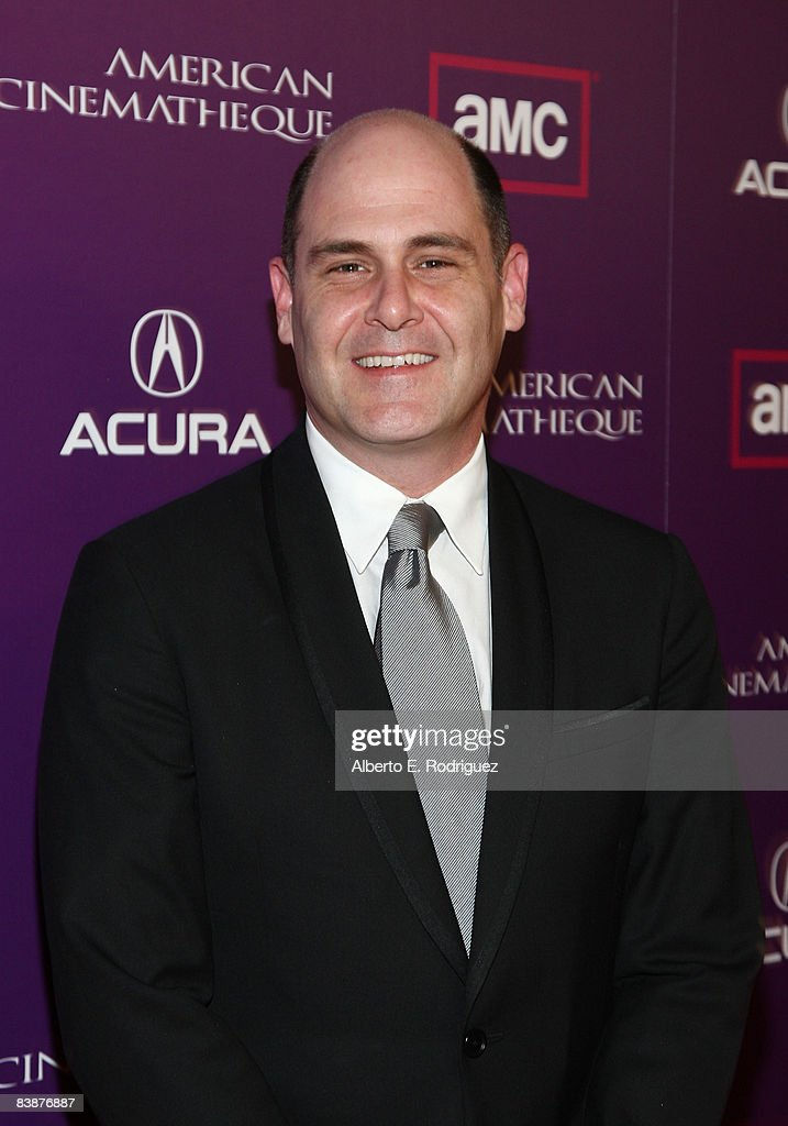 Writer Matthew Weiner arrives at the 23rd annual American Cinematheque show honoring Samuel L. Jackson held at Beverly Hilton Hotel on December 1, 2008 in Beverly Hills, California.