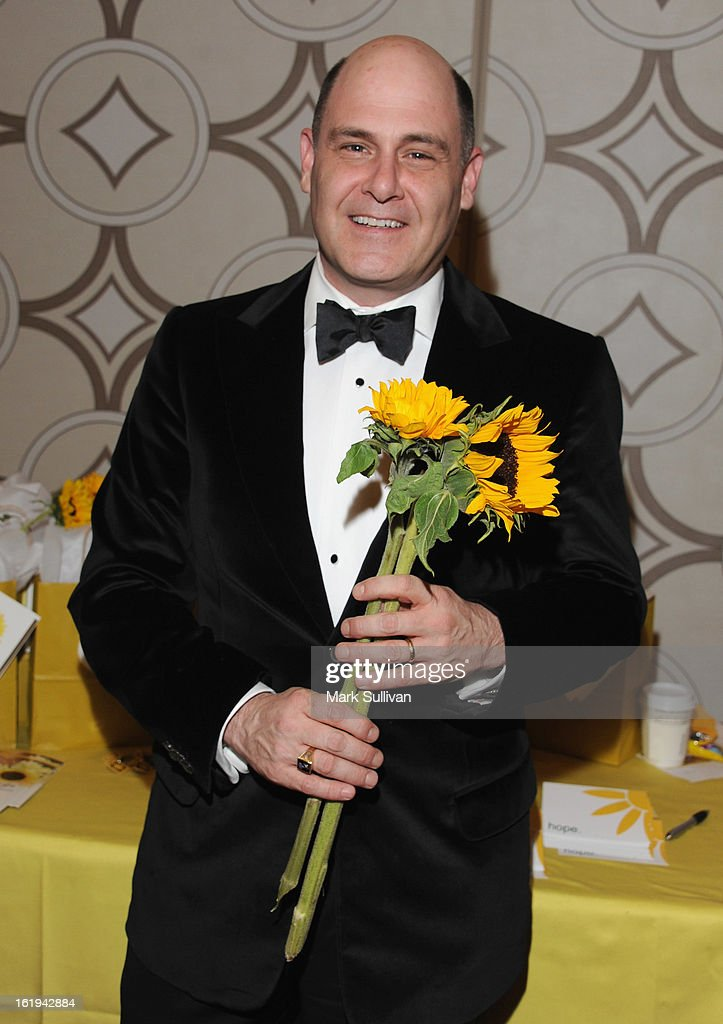 Writer <a gi-track='captionPersonalityLinkClicked' href=/galleries/search?phrase=Matthew+Weiner&family=editorial&specificpeople=4148376 ng-click='$event.stopPropagation()'>Matthew Weiner</a> attends the 2013 Writers Guild Awards Backstage Creations Celebrity Retreat on February 17, 2013 in Los Angeles, California.
