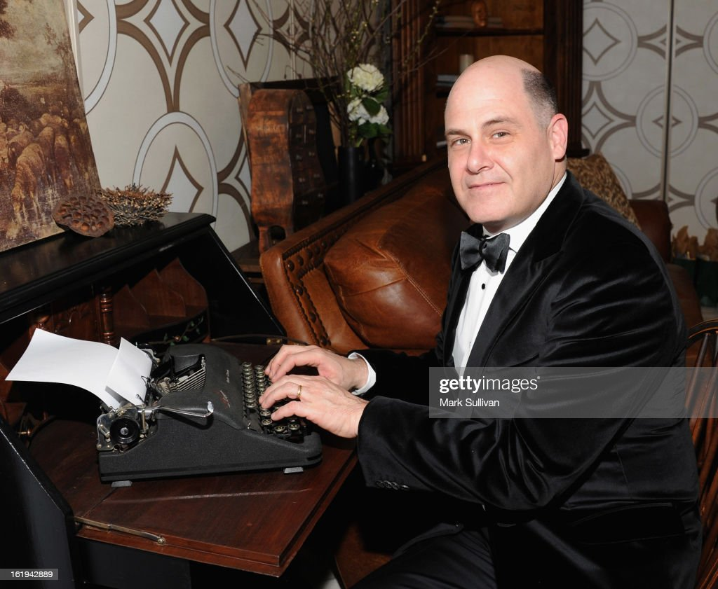Writer Matthew Weiner attends the 2013 Writers Guild Awards Backstage Creations Celebrity Retreat on February 17, 2013 in Los Angeles, California.