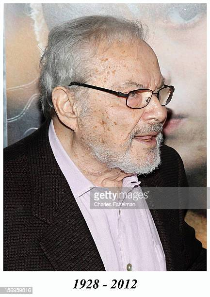 Writer Maurice Sendak attends the 'Where The Wild Things Are' premiere at Alice Tully Hall on October 13 2009 in New York City Maurice Sendak died in...