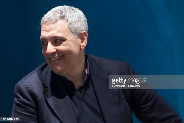 Writer Maurizio De Giovanni attends Tempo Di Libri Book Show on April 21 2017 in Milan Italy