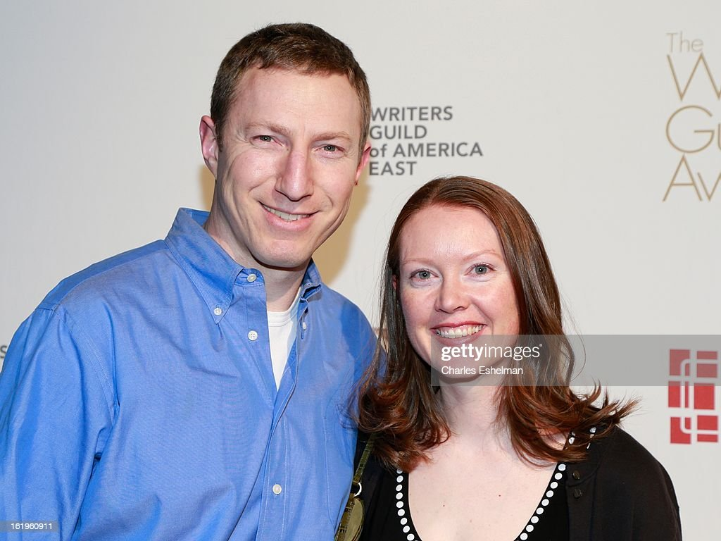Writer Max Werner and wife Nicole Werner attend the 65th Annual Writers Guild East Coast Awards at B.B. King Blues Club & Grill on February 17, 2013 in New York City.