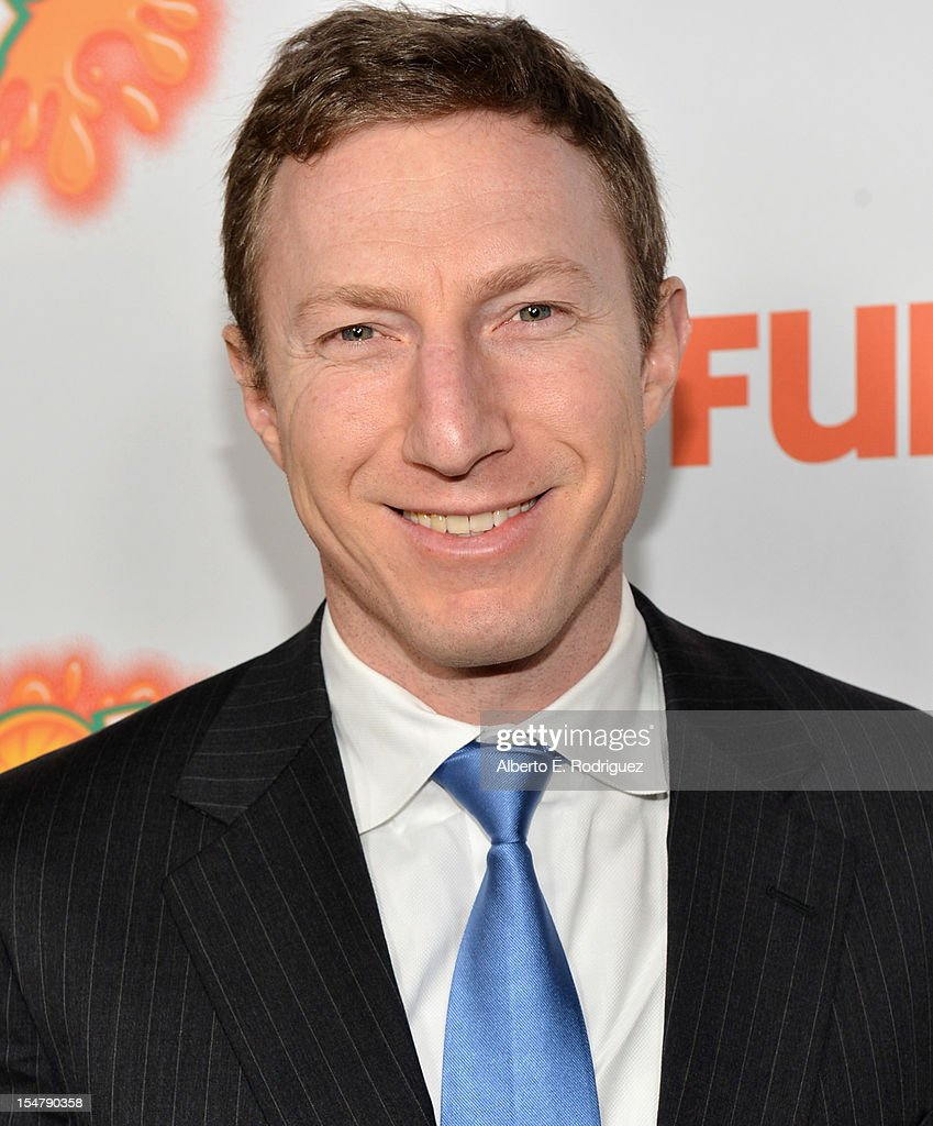 Writer Max Werner arrives to the premiere of Paramount Pictures' 'Fun Size' at Paramount Theater on the Paramount Studios lot on October 25, 2012 in Hollywood, California.