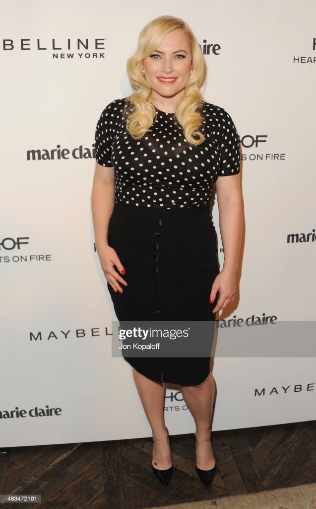 Writer <a gi-track='captionPersonalityLinkClicked' href=/galleries/search?phrase=Meghan+McCain&family=editorial&specificpeople=1045063 ng-click='$event.stopPropagation()'>Meghan McCain</a> arrives at Marie Claire's Fresh Faces Party at Soho House on April 8, 2014 in West Hollywood, California.