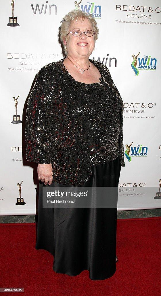 Writer Melanie Mayron arrives at The Annual Women's Image Awards at Santa Monica Bay Woman's Club on December 11, 2013 in Santa Monica, California.