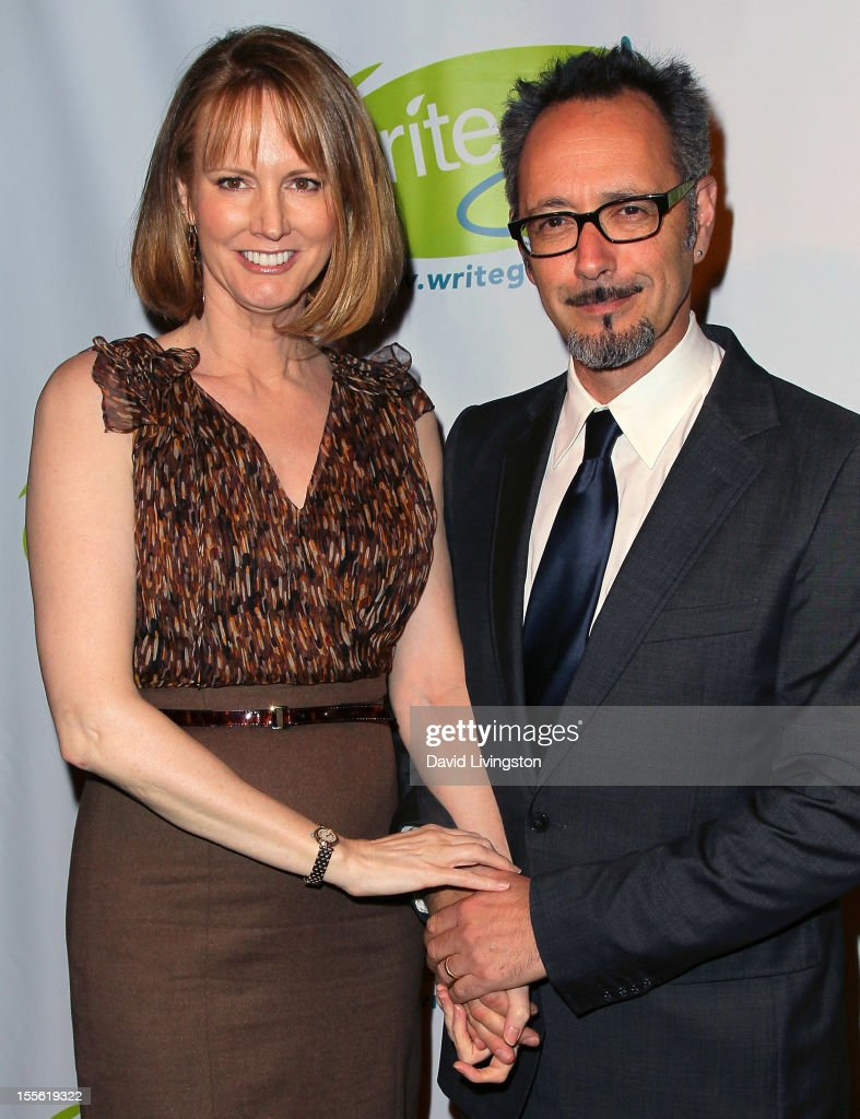 Writer Melissa Rosenberg (L) and husband/director Lev L. Spiro attend the Bold Ink Awards at the Eli and Edythe Broad Stage on November 5, 2012 in Santa Monica, California.
