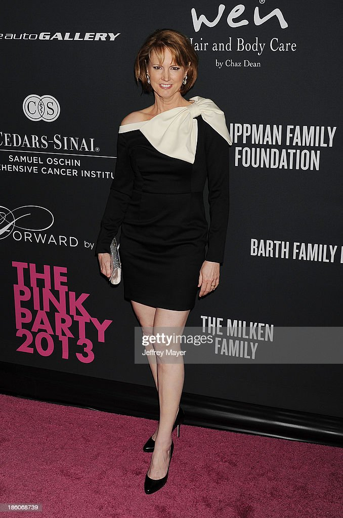 Writer Melissa Rosenberg attends The Pink Party 2013 at Barker Hangar on October 19, 2013 in Santa Monica, California.