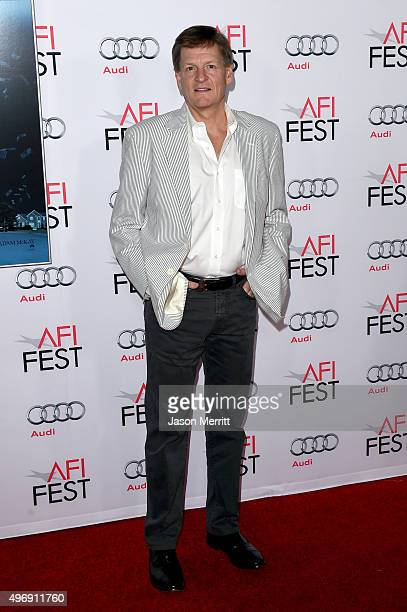 Writer Michael Lewis attends the closing night gala premiere of Paramount Pictures' 'The Big Short' during AFI FEST 2015 at TCL Chinese Theatre on...