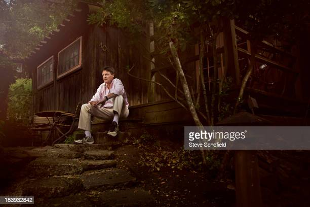 Writer Michael Lewis is photographed for the Sunday Times magazine on August 14 2010 in Berkeley England