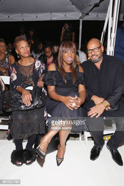 Writer Mikki Taylor and journalist Emil Wilbekin attend Harlem's Fashion Row 10th Anniversary Style Award and Fashion Show at La Marina Restaurant...