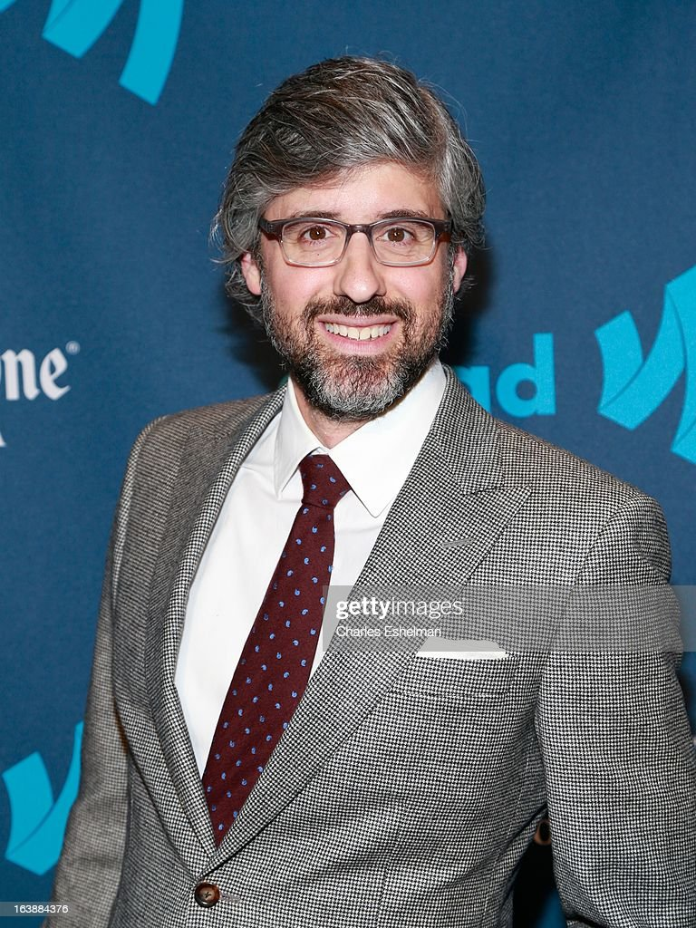 Writer Mo Rocca attends the 24th annual GLAAD Media awards at The New York Marriott Marquis on March 16, 2013 in New York City.