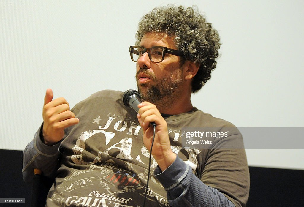 Writer <a gi-track='captionPersonalityLinkClicked' href=/galleries/search?phrase=Neil+LaBute&family=editorial&specificpeople=2980313 ng-click='$event.stopPropagation()'>Neil LaBute</a> participates in a Q&A following the premiere of 'Some Girl(s)' at Laemmle NoHo 7 on June 26, 2013 in North Hollywood, California.